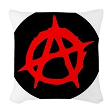Anarchy Woven Throw Pillow