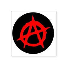 "Anarchy Square Sticker 3"" x 3"""