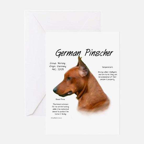 German Pinscher Greeting Card