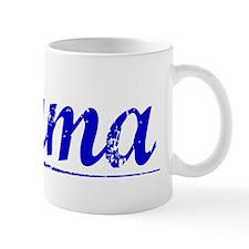 Puma, Blue, Aged Mug