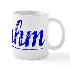 Rahm, Blue, Aged Mug