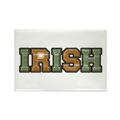 Irish Varsity Letters Rectangle Magnet (100 pack)