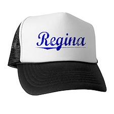 Regina, Blue, Aged Hat
