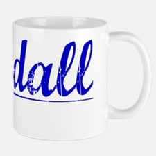 Randall, Blue, Aged Mug