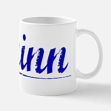 Quinn, Blue, Aged Small Small Mug