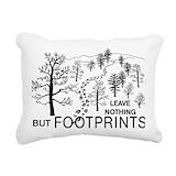 Hiking Rectangle Canvas Pillows