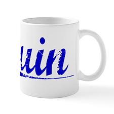 Quin, Blue, Aged Mug
