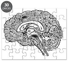 Science Geek Brain Puzzle