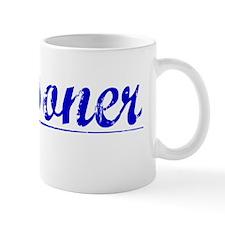 Reasoner, Blue, Aged Mug