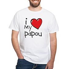 I Love My Papou Shirt