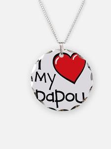 I Love My Papou Necklace