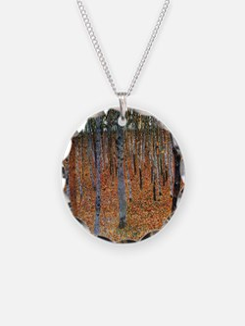 Gustav Klimt Beech Grove Necklace