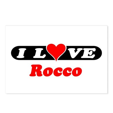 I Love Rocco Postcards (Package of 8)