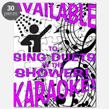 KARAOKE! AVAILABLE FOR SHOWER DUETS Puzzle
