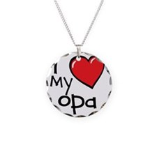 I Love My Opa Necklace