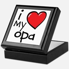 I Love My Opa Keepsake Box