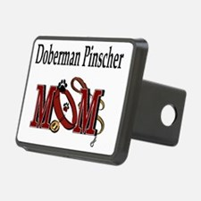 Doberman Pinscher Mom Hitch Cover