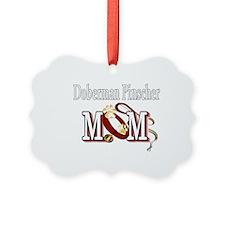 Doberman Pinscher Mom Ornament