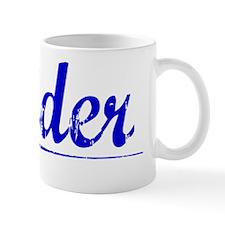 Reider, Blue, Aged Mug