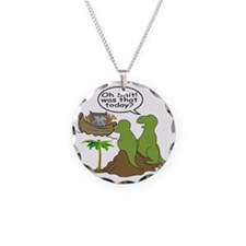 Noah and T-Rex, Funny Necklace