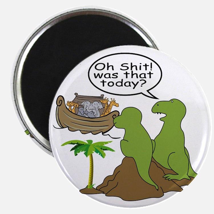 Noah and T-Rex, Funny Magnet