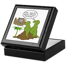 Noah and T-Rex, Funny Keepsake Box