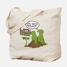 Noah and T-Rex, Funny Tote Bag