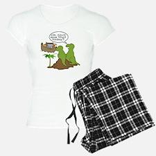 Noah and T-Rex, Funny Pajamas