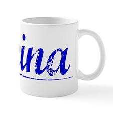 Reina, Blue, Aged Mug