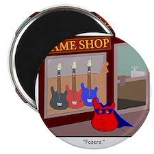 The Real Guitar Hero Magnet