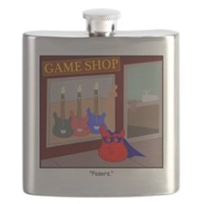 The Real Guitar Hero Flask