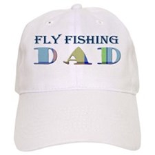 FLY FISHING DAD - MORE SPORTS W/THIS DESIGN Baseball Cap