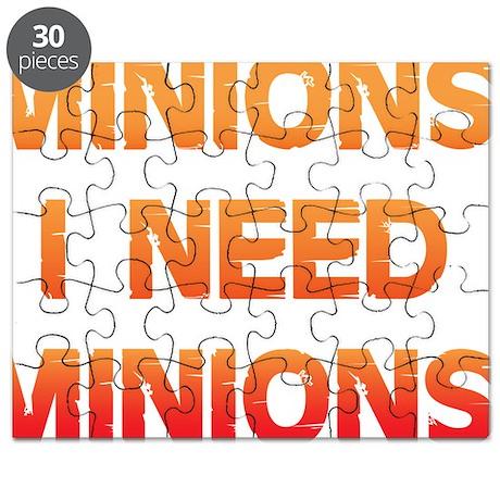 I need minions Puzzle