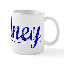 Rodney, Blue, Aged Mug