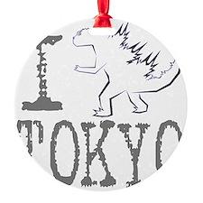 I Godzilla TOKYO (new) Ornament