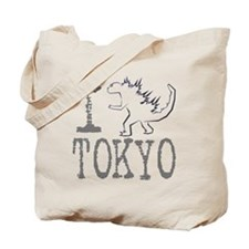 I Godzilla TOKYO (new) Tote Bag