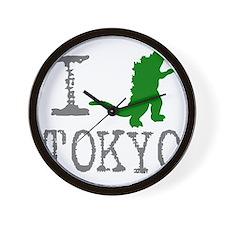 I Godzilla TOKYO (original) Wall Clock