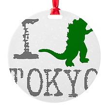 I Godzilla TOKYO (original) Ornament