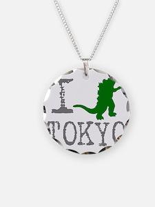 I Godzilla TOKYO (original) Necklace