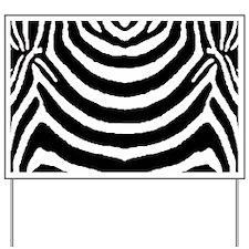 Zebra print 4 Yard Sign