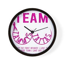 Team Tammys Tattas Wall Clock