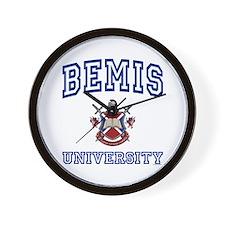 BEMIS University Wall Clock