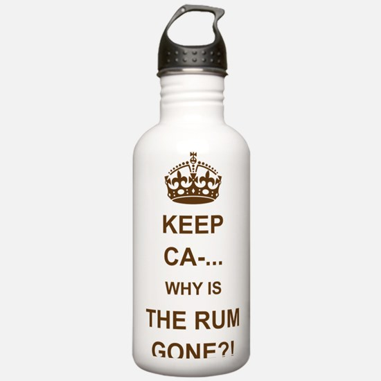 THE RUM IS GONE Water Bottle