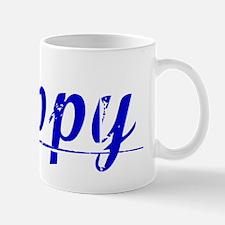 Rippy, Blue, Aged Mug