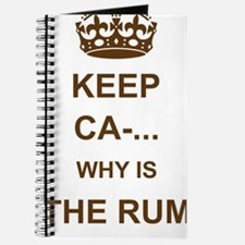 THE RUM IS GONE Journal