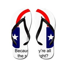 Apathetic Party 2012: Because theyre al Flip Flops