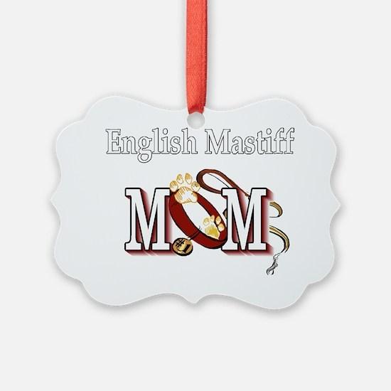 English Mastiff Mom Ornament