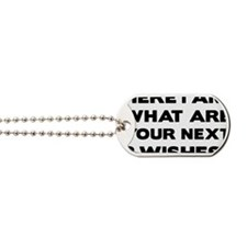 Here i am Dog Tags