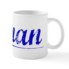 Ronan, Blue, Aged Small Mug