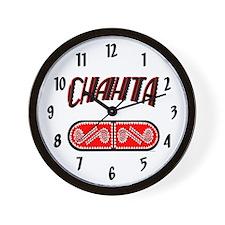 CHAHTA Wall Clock